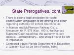 state prerogatives cont26