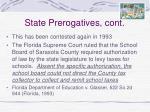 state prerogatives cont27