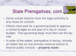 state prerogatives cont28