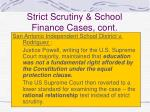 strict scrutiny school finance cases cont63