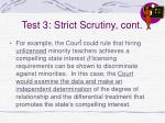 test 3 strict scrutiny cont56