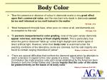 body color