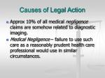 causes of legal action18