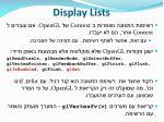 display lists26