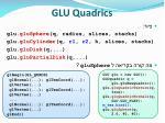 glu quadrics40