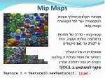mip maps
