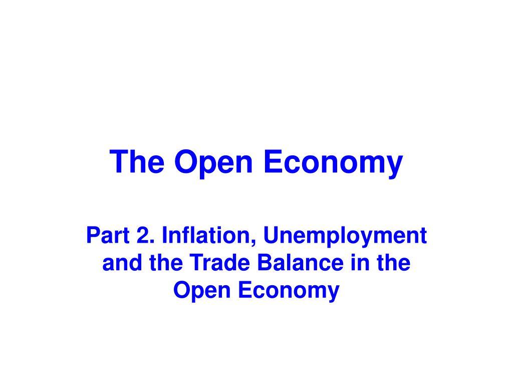 the open economy l.