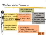 wordsworthian discourse