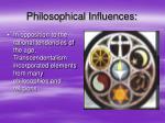 philosophical influences