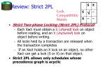review strict 2pl