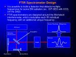 ftir spectrometer design