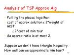 analysis of tsp approx alg127