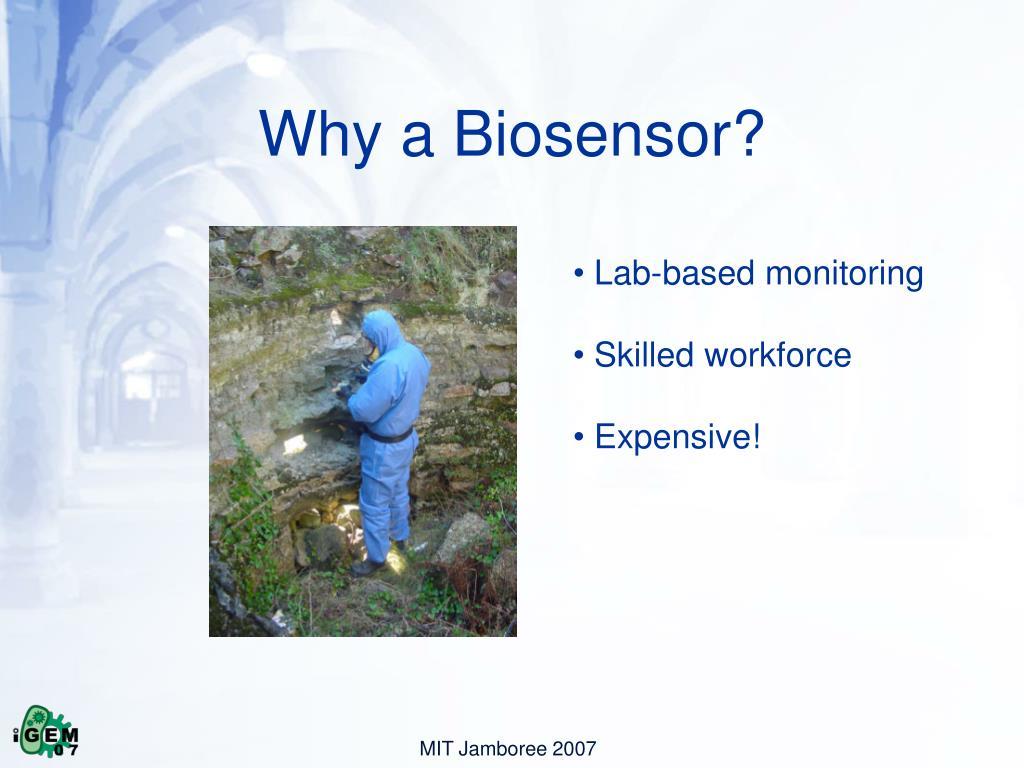 Why a Biosensor?