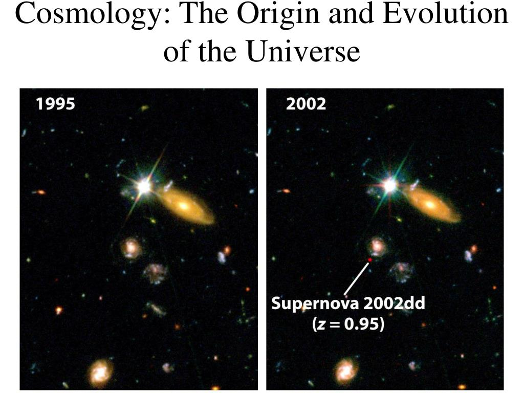 cosmology the origin and evolution of the universe l.