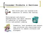 consumer products services18