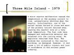 three mile island 1979