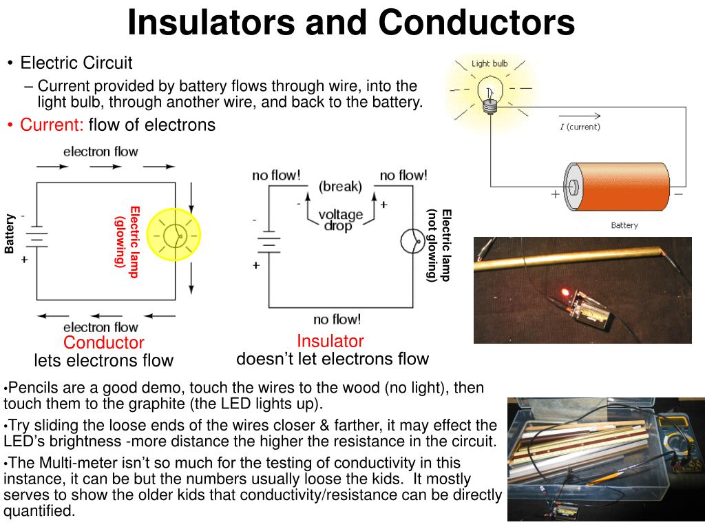 insulators and conductors l.