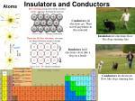 insulators and conductors3
