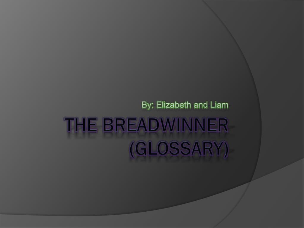 by elizabeth and liam l.