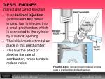 diesel engines indirect and direct injection