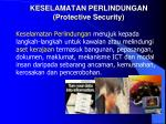 keselamatan perlindungan protective security