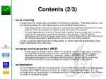 contents 2 3