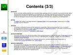 contents 3 3