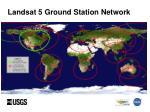 landsat 5 ground station network