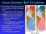 ocean conveyer belt circulation