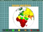 europe and africa
