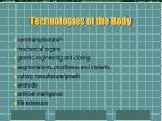technologies of the body6