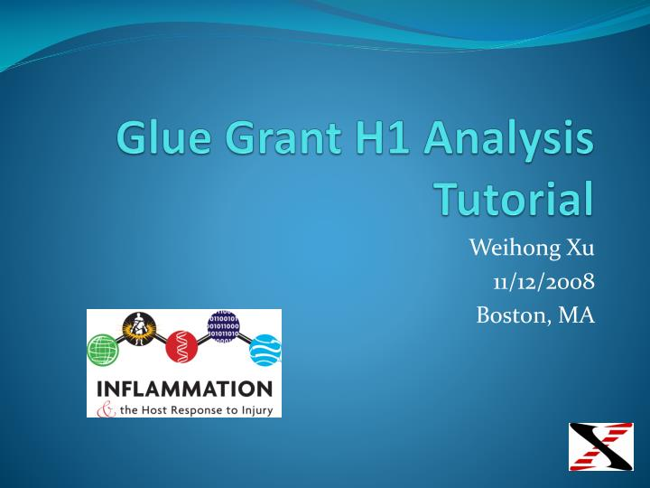 glue grant h1 analysis tutorial n.