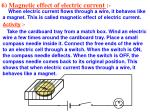 6 magnetic effect of electric current