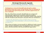 strategic research agenda cross cutting activity safety7