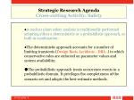 strategic research agenda cross cutting activity safety9