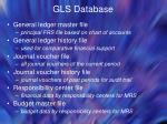 gls database