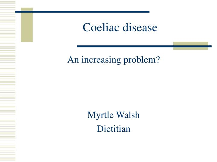 coeliac disease n.