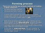 forming process