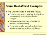 some real world examples5