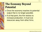 the economy beyond potential2
