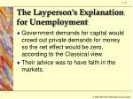 the layperson s explanation for unemployment3