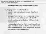 developmental consequences cont17