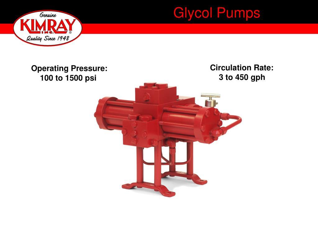 glycol pumps l.