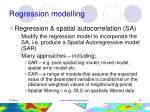 regression modelling34