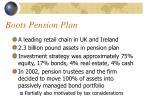 boots pension plan