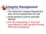 integrity management73