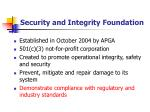 security and integrity foundation12