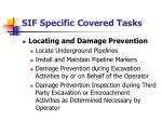 sif specific covered tasks48