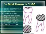 gold crown gc