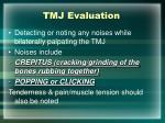 tmj evaluation